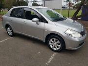 2006 Nissan Tiida C11 ST Silver 4 Speed Automatic Sedan Granville Parramatta Area Preview
