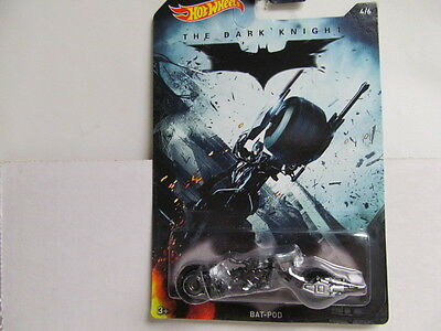 Hot Wheels NEW 2015 Walmart Batman Series - The Dark Knight - BAT-POD