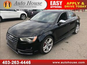 2015 AUDI S3 2.0T TECHNIK NAVIGATION BACKUP CAMERA