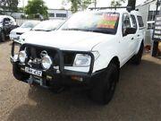 2007 Nissan Navara D40 RX White 6 Speed Manual Utility Colyton Penrith Area Preview