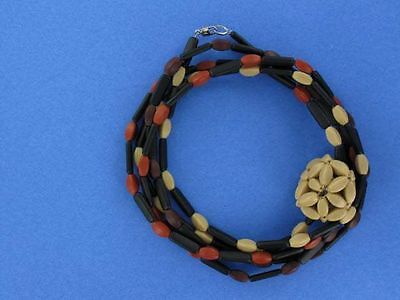 SENT Murano Long Sautoir Necklace Great Gift Idea! (SM038) - Great Dress Up Ideas