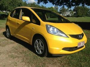 2010 Honda Jazz GE MY10 GLi Yellow Automatic Hatchback Greenslopes Brisbane South West Preview