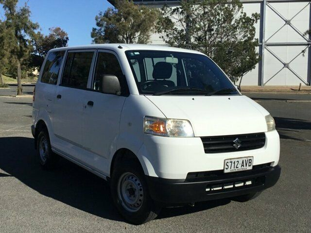 5441206b84 2012 Suzuki APV White 5 Speed Manual Van