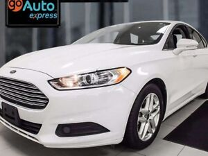 2015 Ford Fusion SE in Stunning white ready for a fight