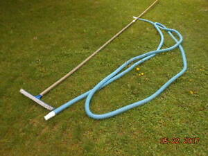 vacuum, brush and hose for pool