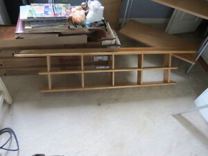 Hand crafted Nick-knack shelf solid Ash