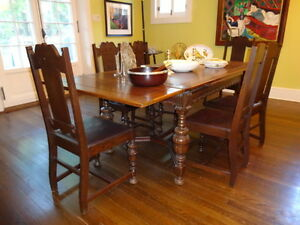 Tudor Style Dining Room Furniture