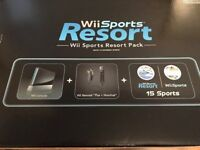 Brand new Nintendo Wii (Wii Sports Resort Pack) for sale - box has never been opened