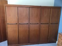 Double Wardrobes - Free, must be collected