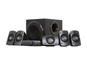 Logitech z906 5.1 speakers 500w total with remote