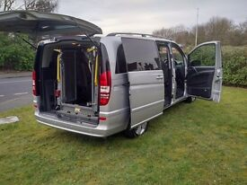 Mercedes Benz Viano Ambiente 2.2 CD Blue CY 2014 - Wheelchair Accessible with Tail lift