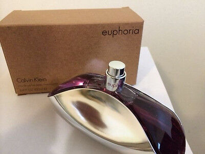Euphoria by Calvin Klein Eau De Parfum Spray 3.4 oz For Women NEW IN TESTER BOX
