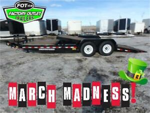 MARCH MADNESS!! TILT DECK -* 16' Tiltbed + 6' Stationary Deck *-