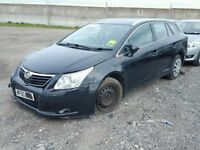 TOYOTA AVENSIS 2011 ESTATE BREAKING FOR SPARES TEL 07814971951 HAVE FEW IN STOCK