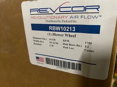 Rbw10213 Replacement Squirrel Cage Furnace Blower Wheel 10 58x10 58 Cw