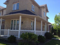 Bright desirable orchard end unit townhouse in Burlington