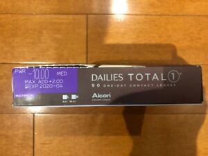 Multi-focal Dailies Total 1 Contact Lenses (-10, +2.00)