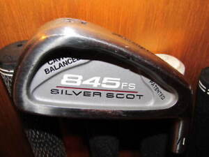 Silver Scott golf clubs by Tommy Armour for sale