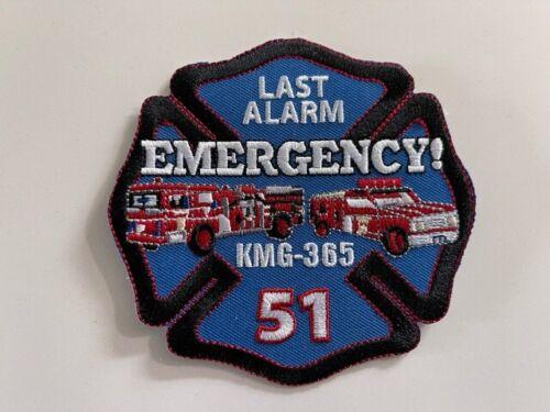 LAST  ALARM!  EMERGENCY!  FIREFIGHTER CHET KELLY REST IN PEACE PATCH