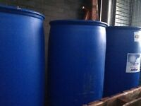210 LITRE BLUE BARRELS FREE FOR COLLECTION X 7