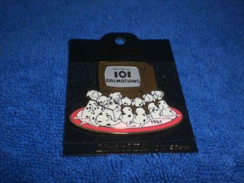Disney Japan History of Art Series 101 DALMATIANS PUPS WATCHING TV  LE  Pin
