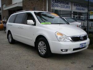 2010 Kia Grand Carnival VQ MY11 SI White 6 Speed Automatic Wagon Wangara Wanneroo Area Preview