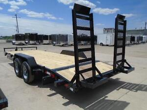 Equipment 7 ton trailer - 7 x 18 - ready for pickup - BUILT HD London Ontario image 5