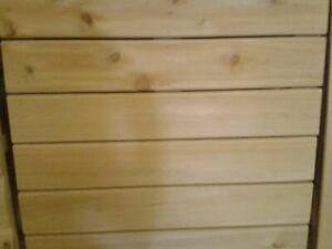 """5/4 x 5"""" Cedar Decking for Sale"""