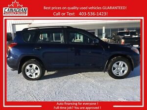 2006 Toyota RAV4 AWD V6 NO Accidents only $9500 Call Today