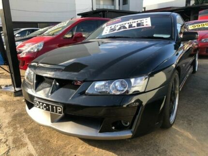 2002 Holden Special Vehicles Maloo Vuii R8 Black 6 Speed Manual Utility Homebush Strathfield Area Preview