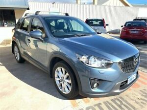2014 Mazda CX-5 MY13 Upgrade Grand Tourer (4x4) Blue 6 Speed Automatic Wagon Mount Hawthorn Vincent Area Preview