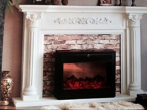 Biggest Sale 50%off +$200 Cashback Stone Fireplace Mantel Mantle Regina Regina Area image 6