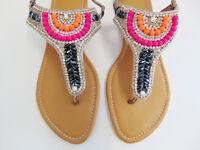 hand stitched sandals