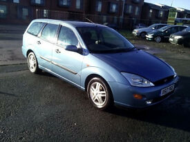 Ford Focus Estate 1.8 (Cheap car for everyday use)