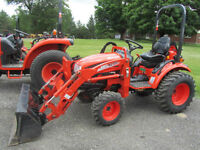 Kioti CK20H Compact Tractor and Loader