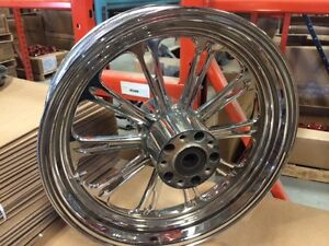 Custom Chrome Rims for 2003 Harley Fat Boy