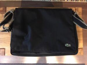 Lacoste Canvas Flap Bag