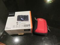 Sony HX60v Compact digital camera with Lowepro case - new BARGAIN!
