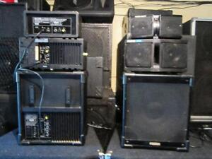 moniteurs studio  3 voix amplifies fostex