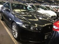 JAGUAR XF 2.2 D R-SPORT 4d AUTO 200 BHP + ONLY 1 OWNER FROM NEW (grey) 2014