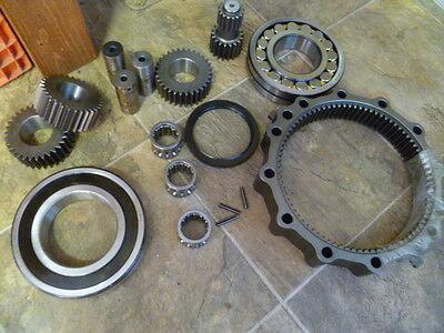 John Deere 490 Excavator Swing Motor Gear Case Rebuild Kit Part Number Th103543