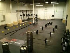 Ultra Durable 4 x 6 x 3/4 Rubber Gym Flooring! Excellent for CrossFit, Heavy Lifting, Garage Gyms