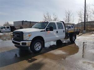 2013 Ford Super Duty F-350 SRW XL 4X4 6.2L Gas Flat Deck