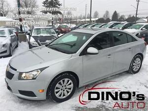 2013 Chevrolet Cruze LT Turbo | $48 Weekly *OAC $0 Down / Low Km