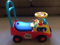 Disney Mickey Mouse Clubhouse My First Ride On Car