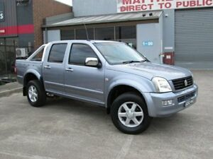 2005 Holden Rodeo RA LT Grey 5 Speed Manual Crew Cab P/Up Epping Whittlesea Area Preview
