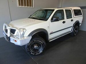 2006 Holden Rodeo RA MY06 Upgrade LX (4x4) White 4 Speed Automatic Dual Cab Woodridge Logan Area Preview
