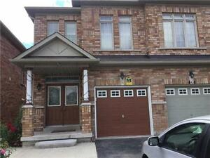 Mississauga Rd/Williams Pkwy Stunning Semi 4 Bed 3 Bath For Rent