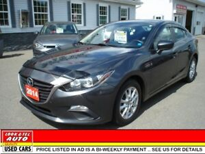 2014 Mazda Mazda3 $14995.00 financed price - 0 down payment* TOU