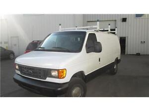 trade man special 2007 ford e150 cargo van $8995